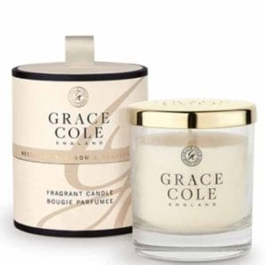 Nectarine Blossom & Grapefruit Fragrant Candle